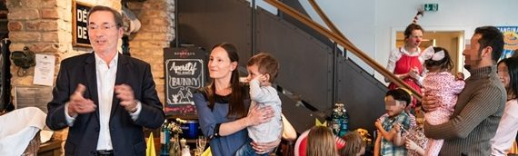 Kleine Auszeit: Familienabendessen mit Ministerpräsident a.D. Matthias Platzeck